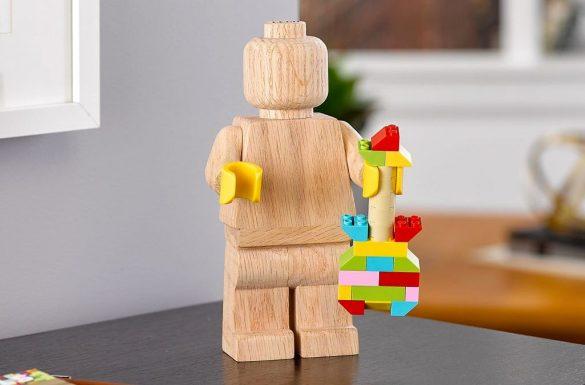 Drewniana minifigurka LEGO
