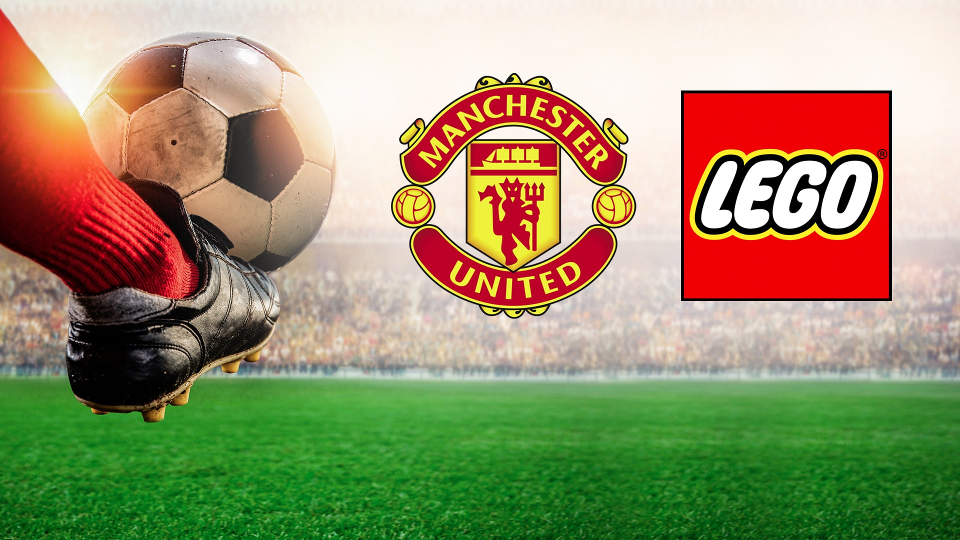 Manchester United LEGO - współpraca