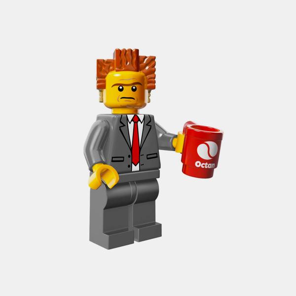 Lego Minifigures The Lego Movie Series