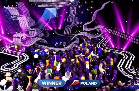 Eurowizja Junior w Gliwicach - wersja LEGO
