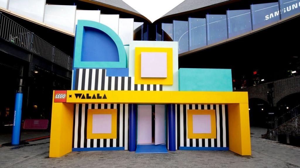 Pięciopokojowy HOUSE OF DOTS w londyńskim Kings Cross, fot. mat. prasowe