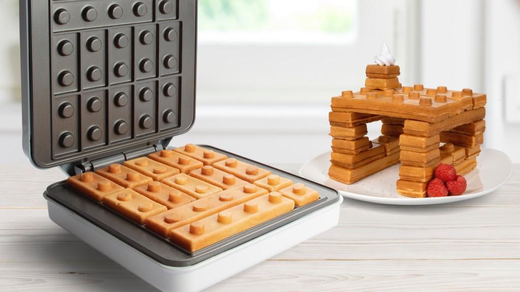 Gofry w kształcie klocków LEGO