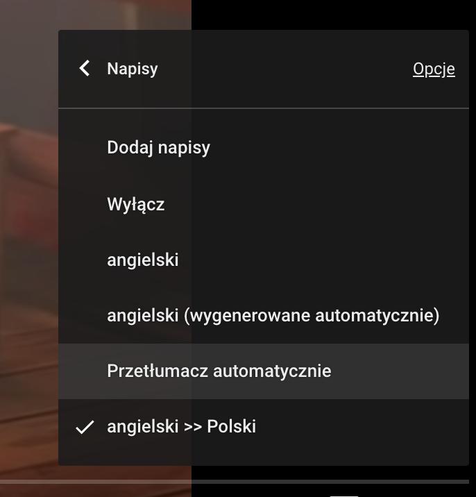 Jak włączyć polskie napisy na Youtube?