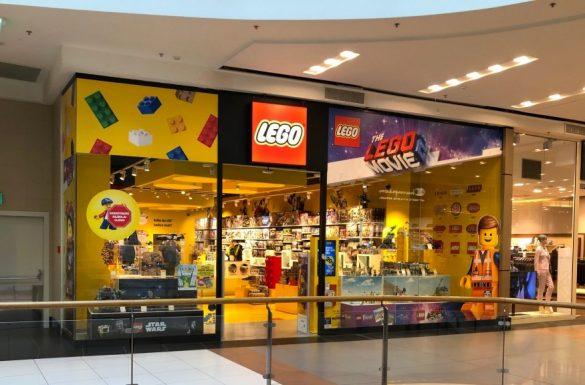 Sklepy LEGO, fot. mat. prasowe