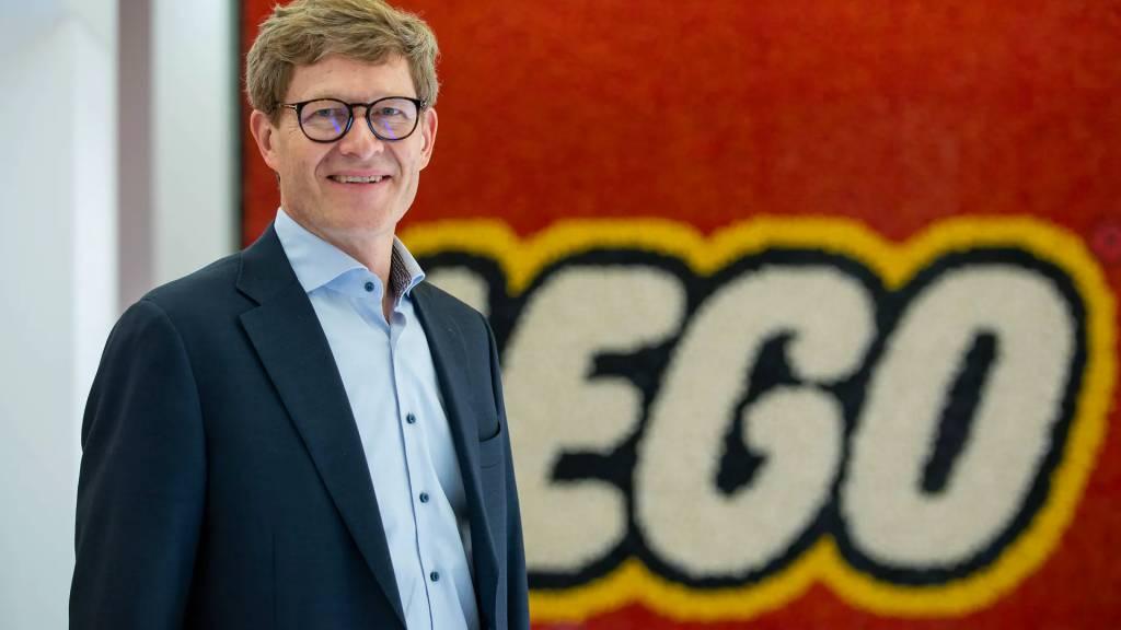 Dyrektor Generalny LEGO - Niels B. Christiansen, fot. mat. prasowe