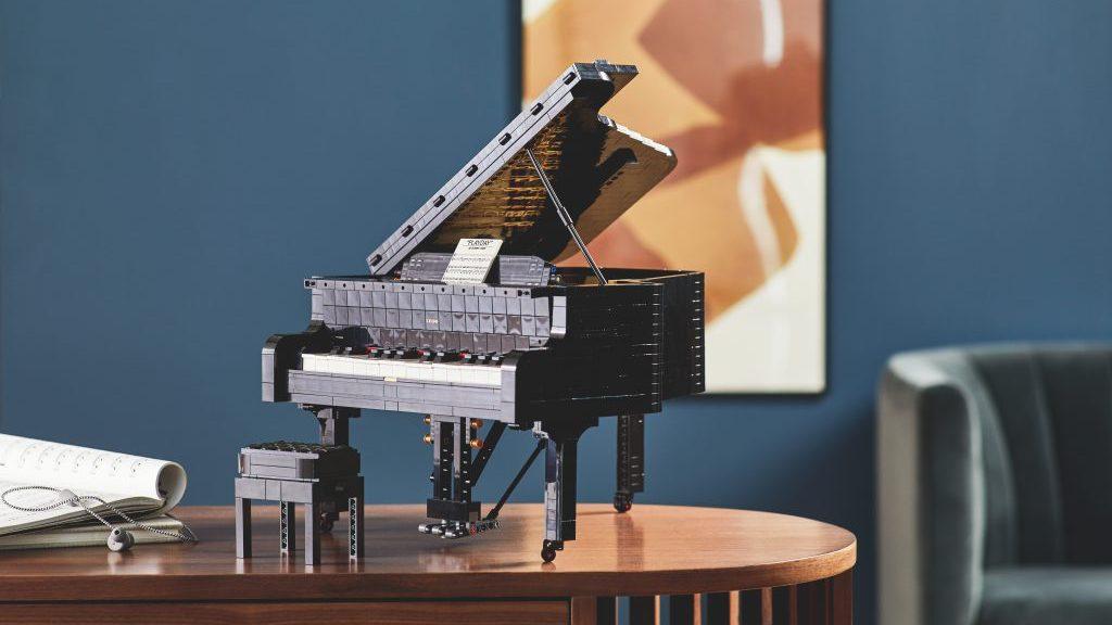 Fortepian LEGO Ideas