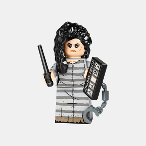 Bellatrix Lestrange - Lego Minifigures 71028 Harry Potter Series 2 - colhp2-12