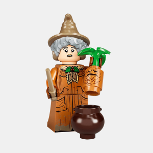 Professor Pomona Sprout - Lego Minifigures 71028 Harry Potter Series 2 - colhp2-15