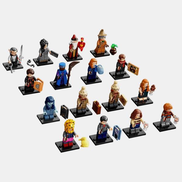Kompletna kolekcja Lego Minifigures 71028 Harry Potter Series 2