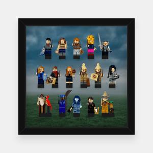 Ramka dla Lego Minifigures (Seria Harry Potter 2) - #1 Mgła