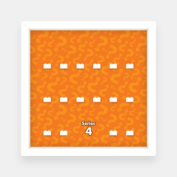 Ramka dla Lego Minifigures (Seria 4)
