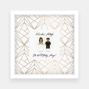 Ramka ślubna – wzorek #2