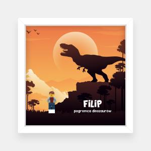 Pogromca dinozaurów - prezent dla fana dinozaurów