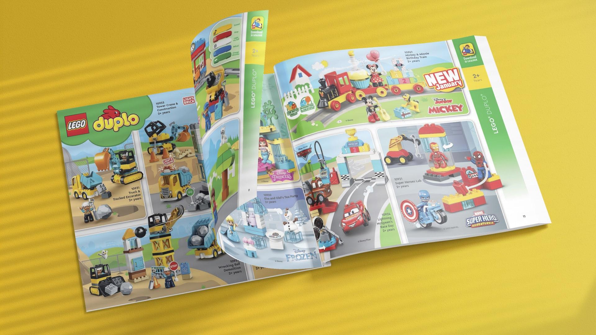 Katalog LEGO styczeń-maj 2021