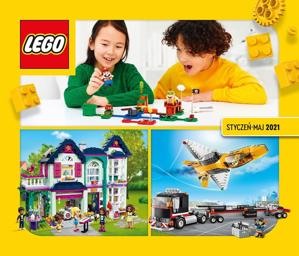 Katalog LEGO styczeń-maj 2021 - wersja polska - 1