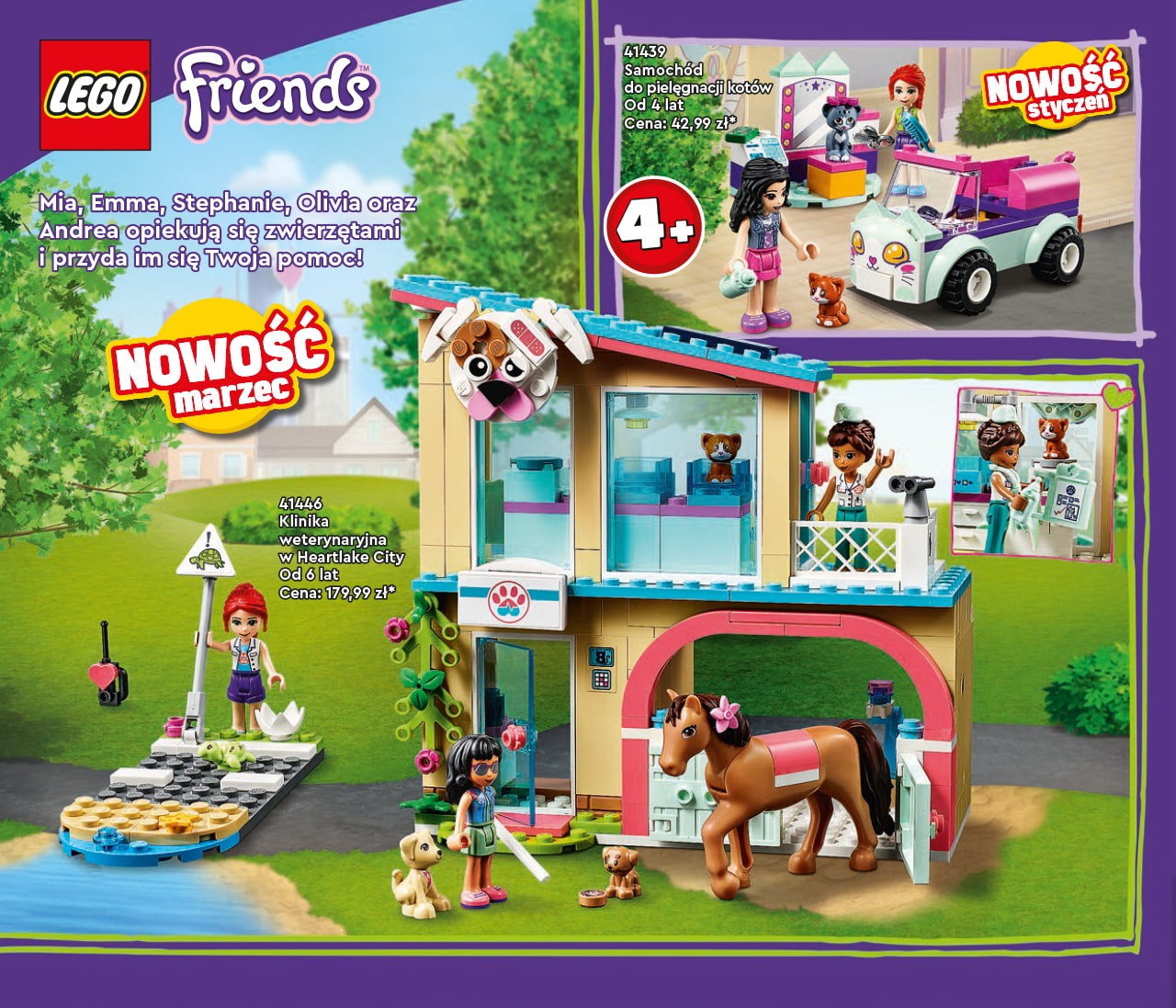 Katalog LEGO styczeń-maj 2021 - wersja polska - 36 - LEGO Friends