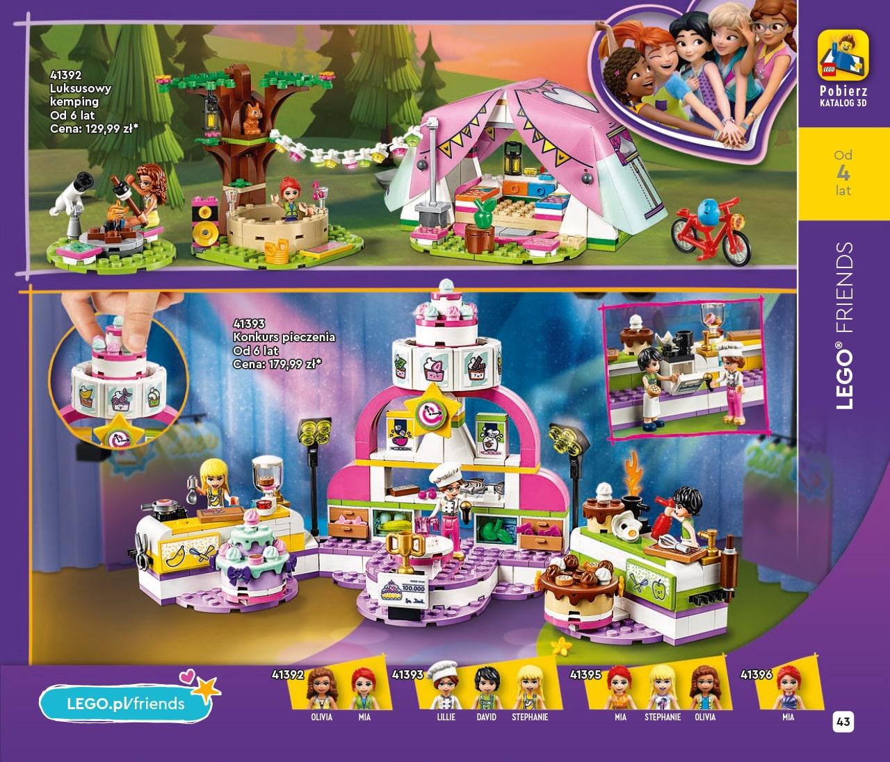 Katalog LEGO styczeń-maj 2021 - wersja polska - 43 - LEGO Friends