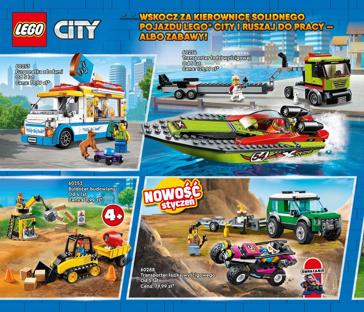 Katalog LEGO styczeń-maj 2021 - wersja polska - 58 - LEGO CITY