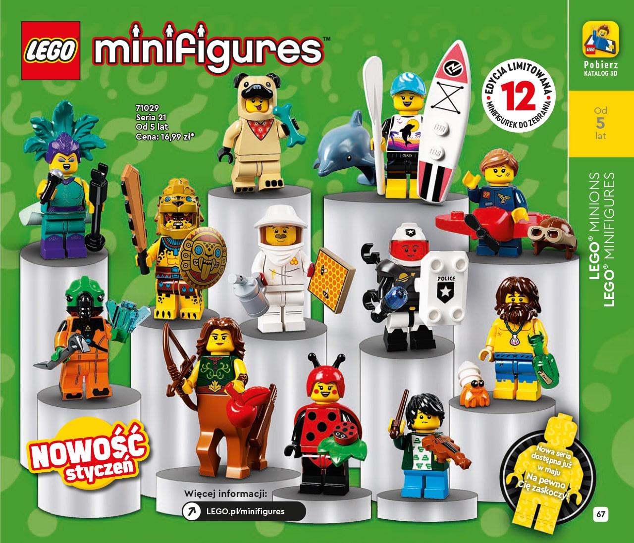 Katalog LEGO styczeń-maj 2021 - wersja polska - 67 - LEGO Minifigures