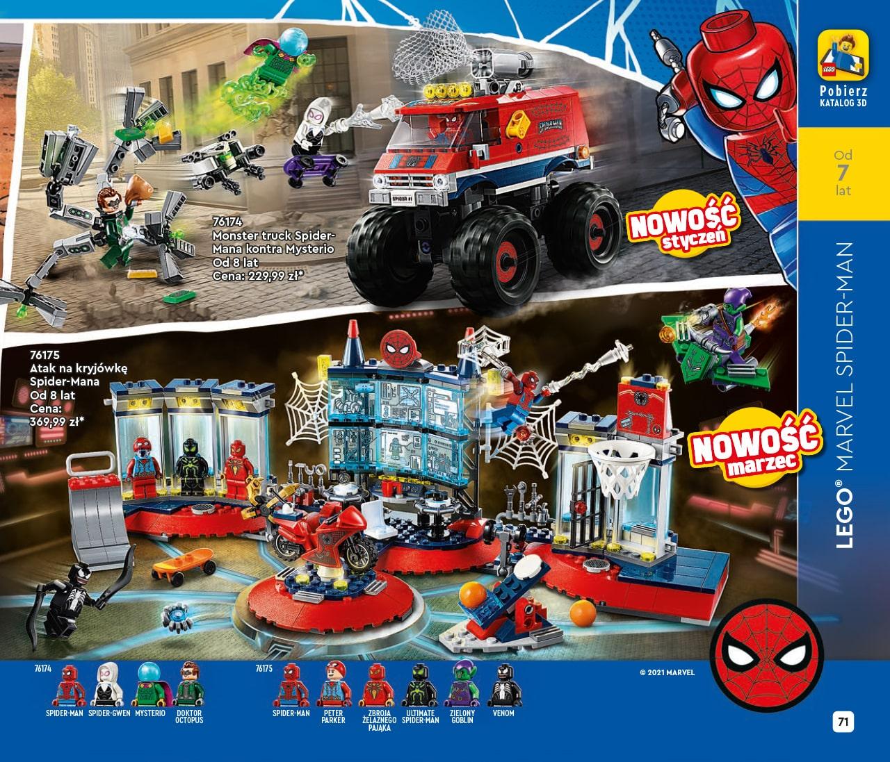 Katalog LEGO styczeń-maj 2021 - wersja polska - 71 - LEGO MARVEL SPIDER-MAN