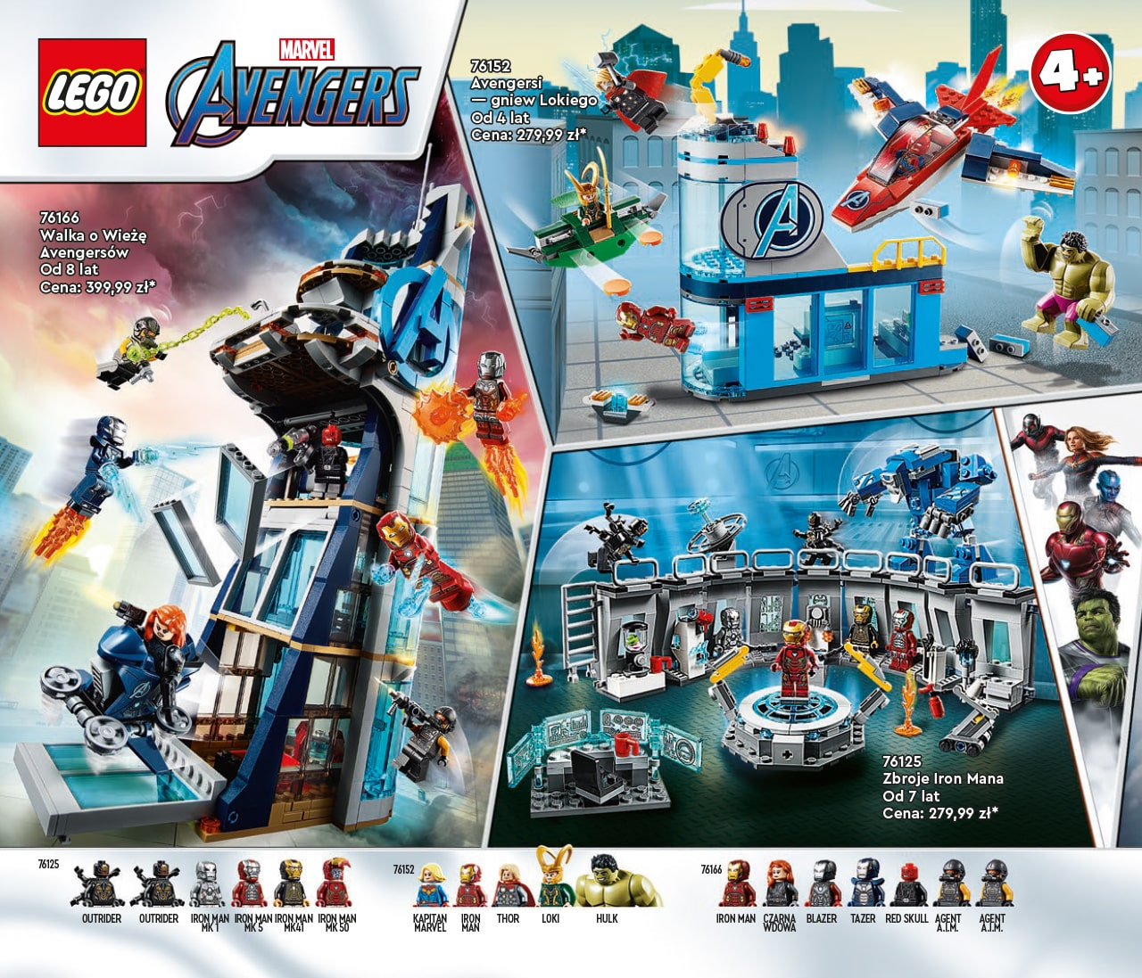 Katalog LEGO styczeń-maj 2021 - wersja polska - 72 - LEGO MARVEL AVENGERS