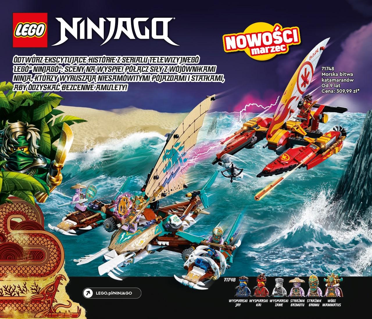 Katalog LEGO styczeń-maj 2021 - wersja polska - 90 - LEGO NINJAGO