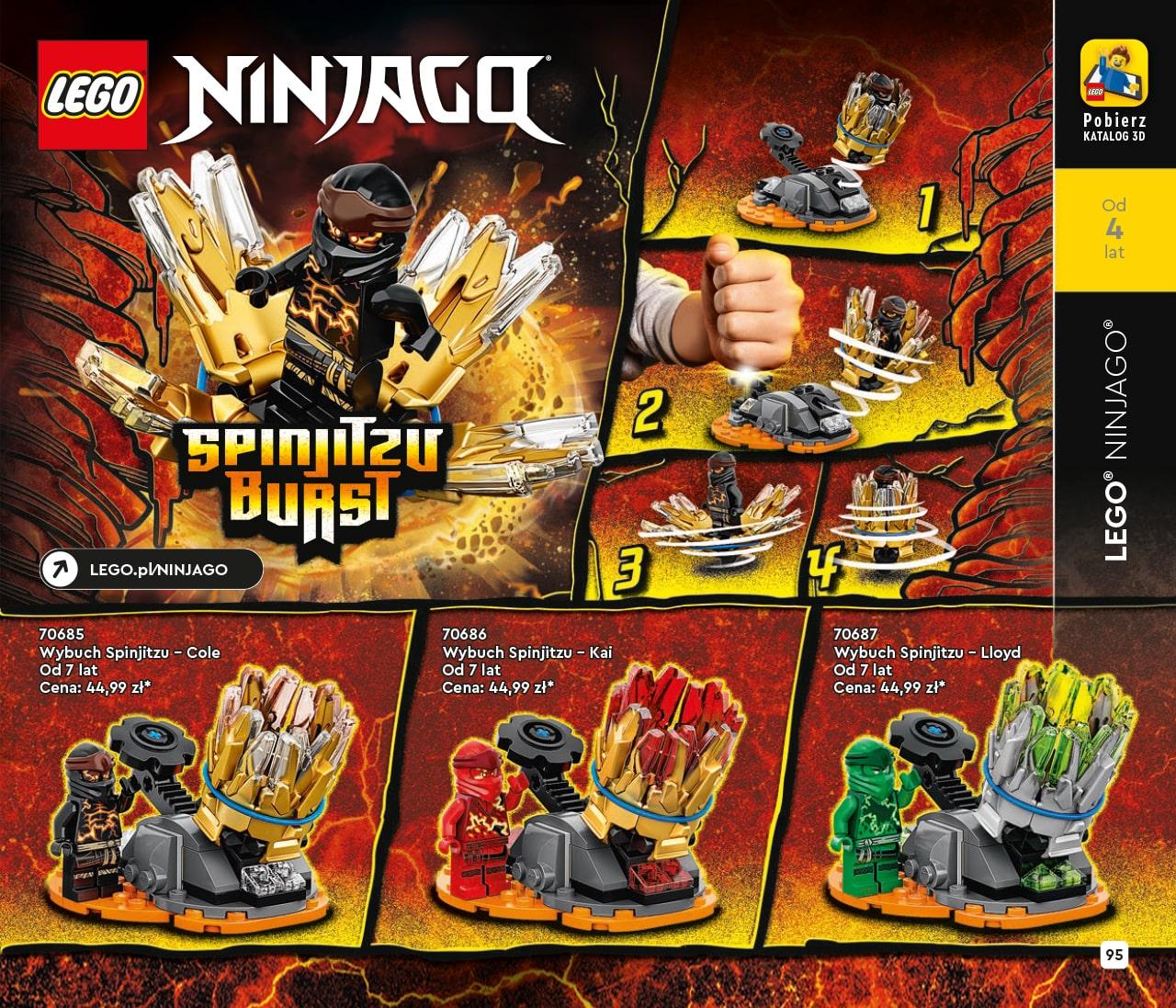Katalog LEGO styczeń-maj 2021 - wersja polska - 95 - LEGO NINJAGO
