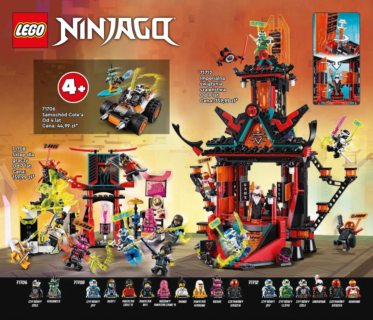 Katalog LEGO styczeń-maj 2021 - wersja polska - 98 - LEGO NINJAGO