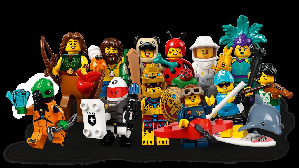 W nowej serii LEGO 71029 znajdziemy 12 minifigurek, fot. LEGO.com