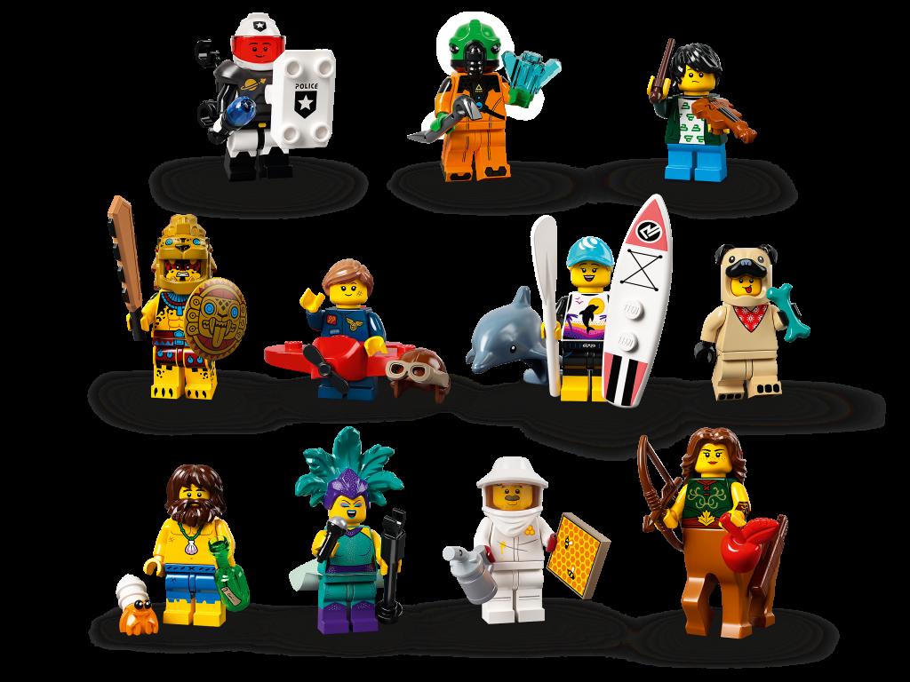Premiera nowej serii LEGO CMF 71029 już w styczniu 2021, fot. LEGO.com