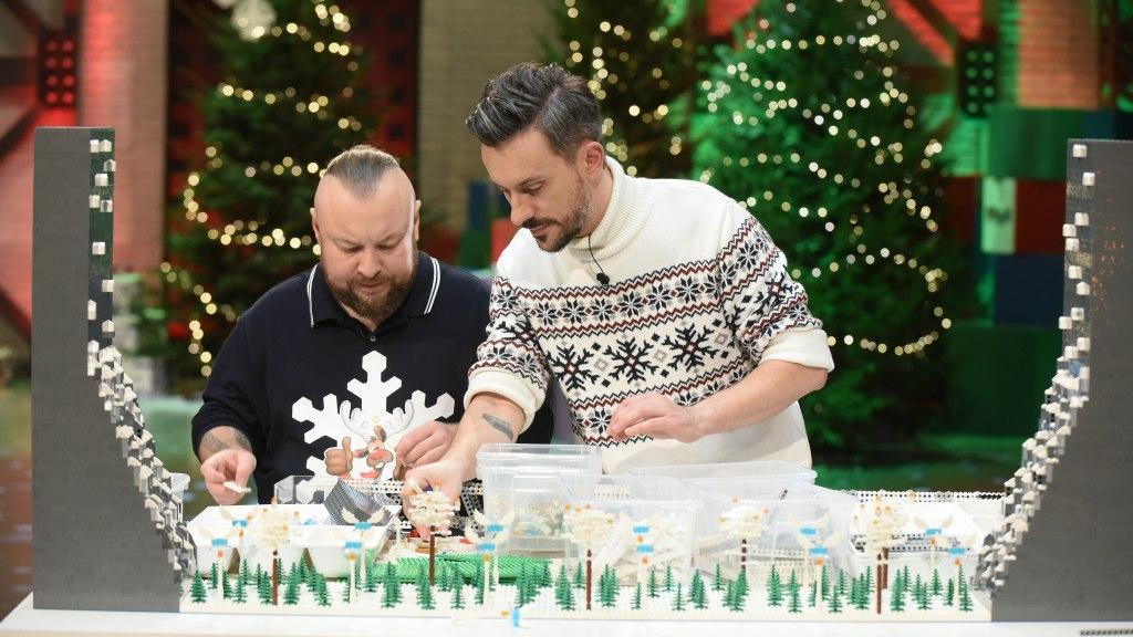 Lego Masters S01E06 - finałowy odcinek - fot. Cezary Piwowarski / TVN