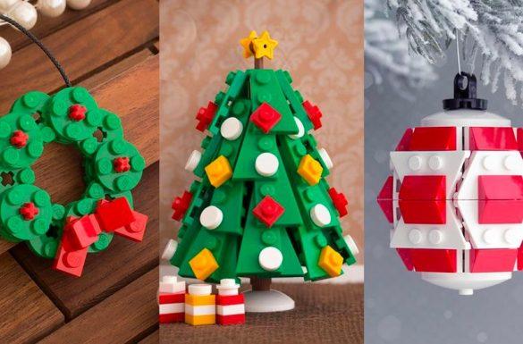 Ozdoby świąteczne i dekoracje DIY z LEGO, fot. CHRIS MCVEIGH