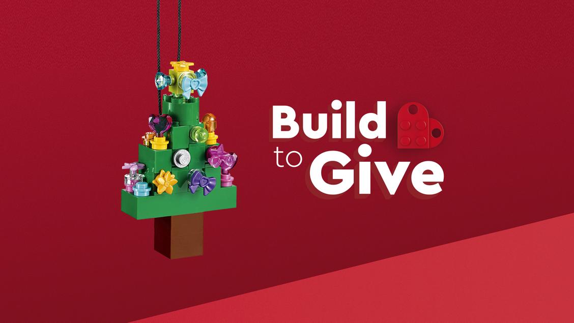 Ozdoby świąteczne z LEGO - zbuduj choinkę