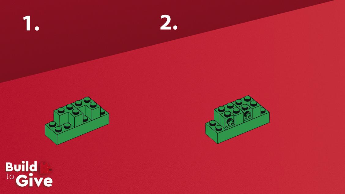 Ozdoby świąteczne z LEGO