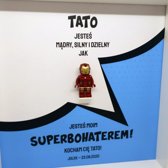 Superbohater Tata - Iron Man