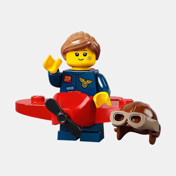 Airplane Girl - Lego Minifigures 71029 Series 21 - col21-9