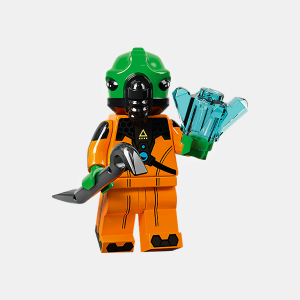 Alien - Lego Minifigures 71029 Series 21 - col21-11