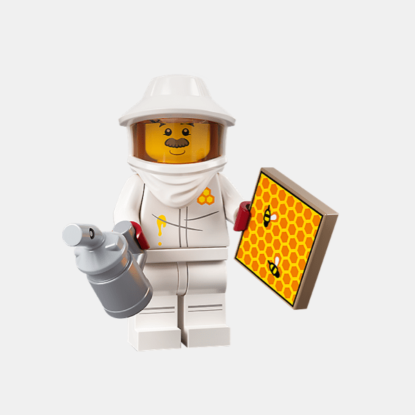 Beekeeper - Lego Minifigures 71029 Series 21 - col21-7