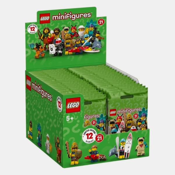 Lego Minifigures 71029 Series 21 - karton