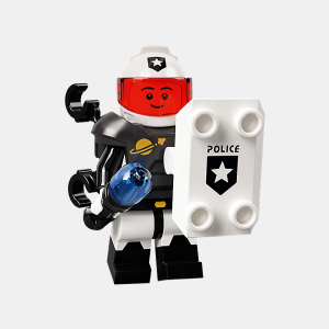 Space Police Guy - Lego Minifigures 71029 Series 21 - col21-10