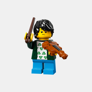 Violin Kid - Lego Minifigures 71029 Series 21 - col21-2