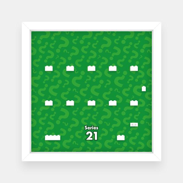 Ramka dla Lego Minifigures (Seria 21)