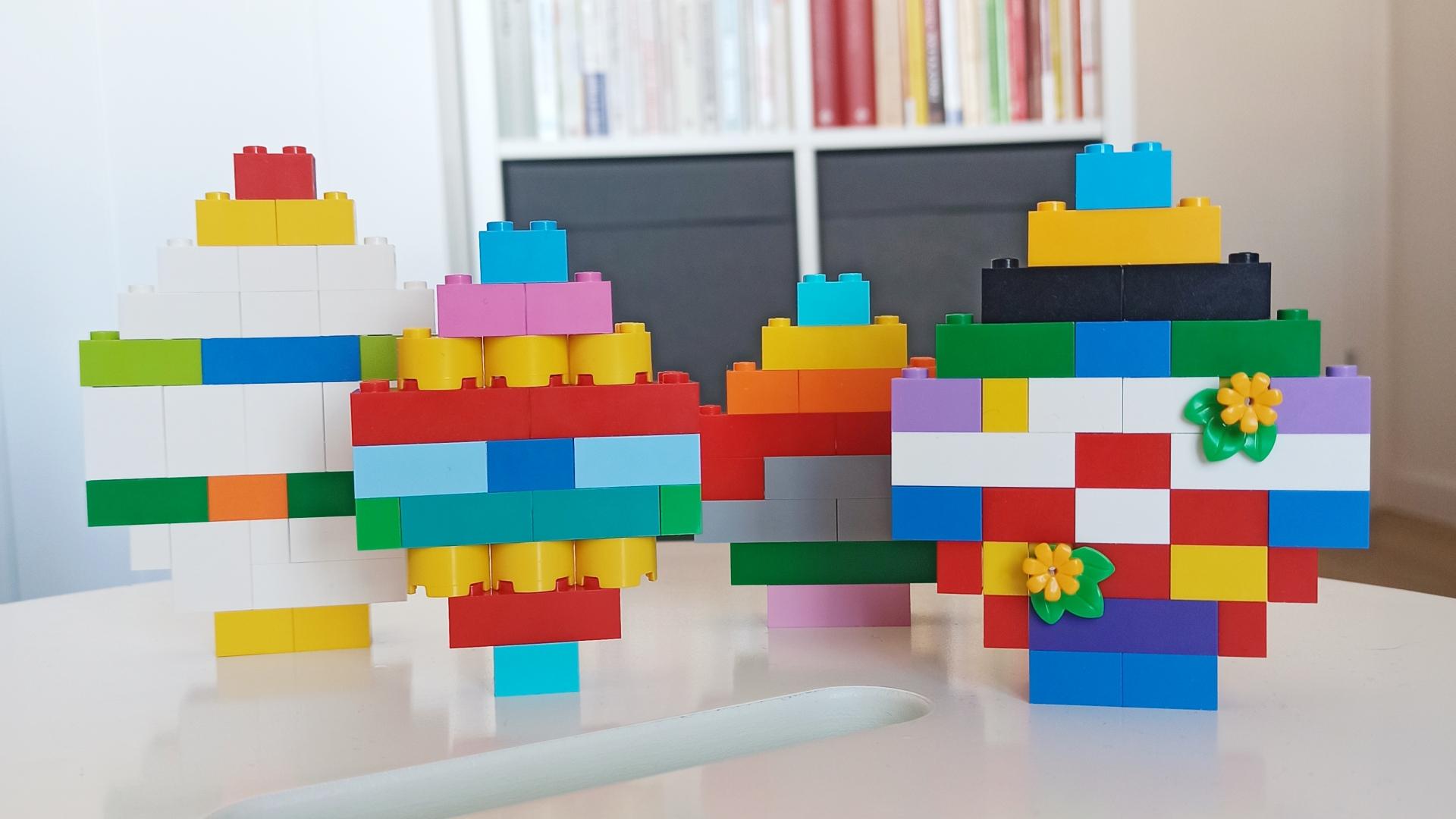 Easter LEGO DIY - ozdoby wielkanocne