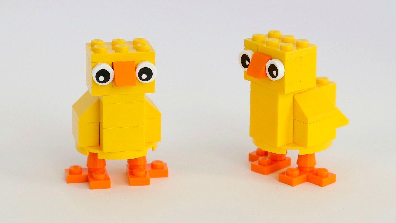 Inspiracje LEGO na Wielkanoc, fot. FrugalFun4Boys.com