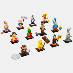 Kompletna kolekcja - Lego Minifigures 71030 Looney Tunes Series