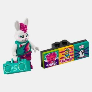 Bunny Dancer - Lego VIDIYO 43101 Bandmates Series 1 - vidbm01-11