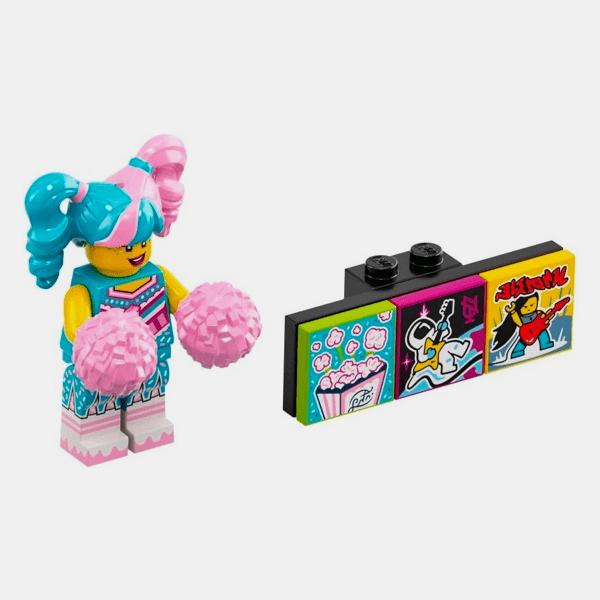 Cotton Candy Cheerleader - Lego VIDIYO 43101 Bandmates Series 1 - vidbm01-10