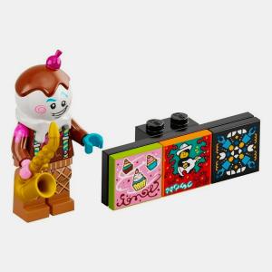 Ice Cream Saxophonist - Lego VIDIYO 43101 Bandmates Series 1 - vidbm01-1