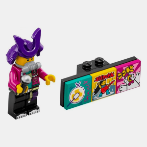 Samurapper - Lego VIDIYO 43101 Bandmates Series 1 - vidbm01-2