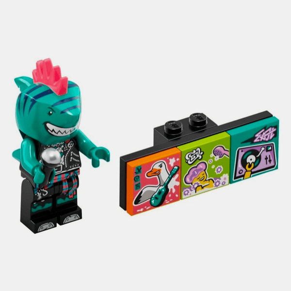 Shark Singer - Lego VIDIYO 43101 Bandmates Series 1 - vidbm01-3